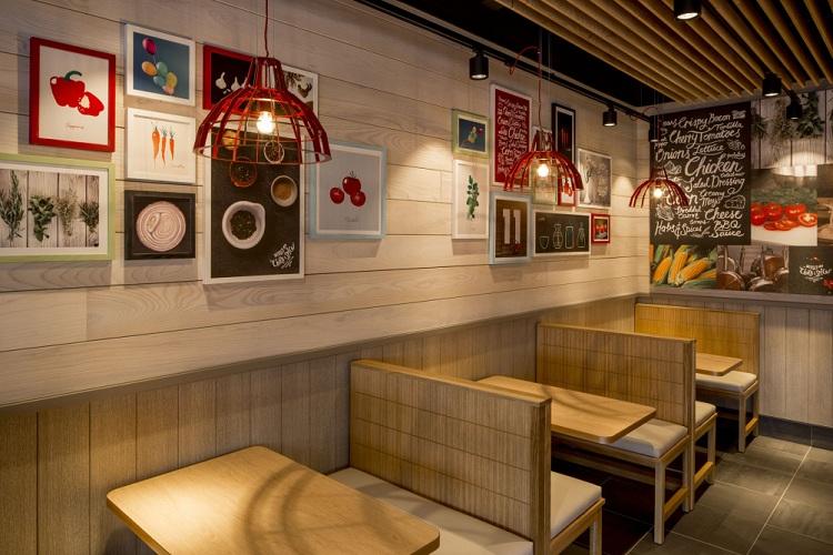 Thiết kế nhà hàng quán ăn nhanh KFC thiet ke nha hang an nhanh 2