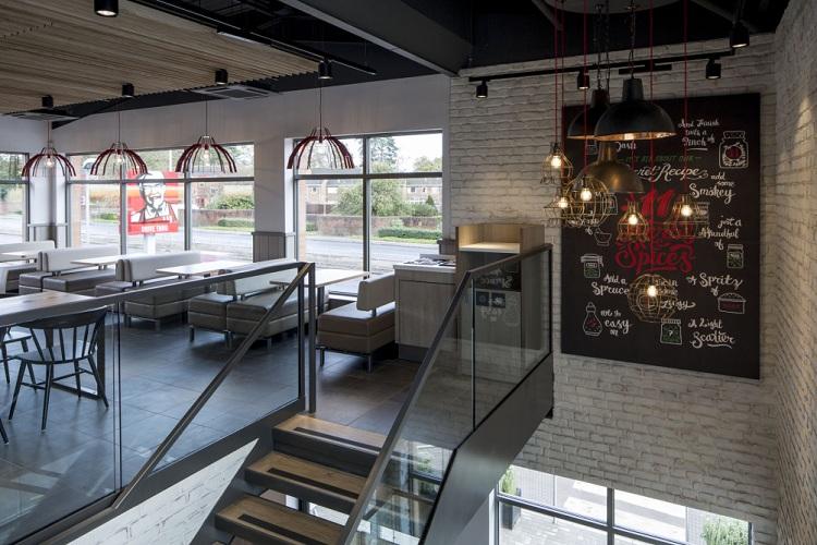 Thiết kế nhà hàng quán ăn nhanh KFC thiet ke nha hang an nhanh 4