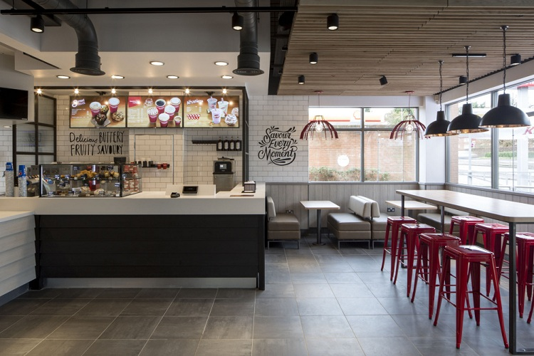 Thiết kế nhà hàng quán ăn nhanh KFC thiet ke nha hang an nhanh 5