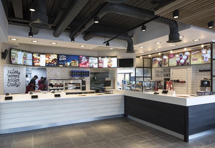 Thiết kế nhà hàng quán ăn nhanh KFC thiet ke nha hang an nhanh 7