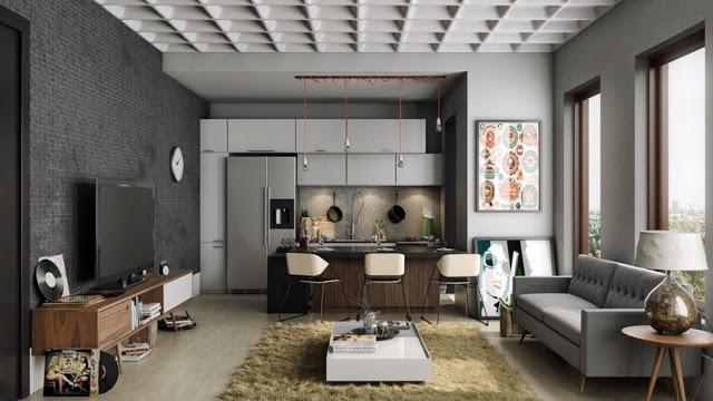 Thiết kế nội thất căn hộ 100m2 ấn tượng thiet ke noi that chung cu 100m2 1