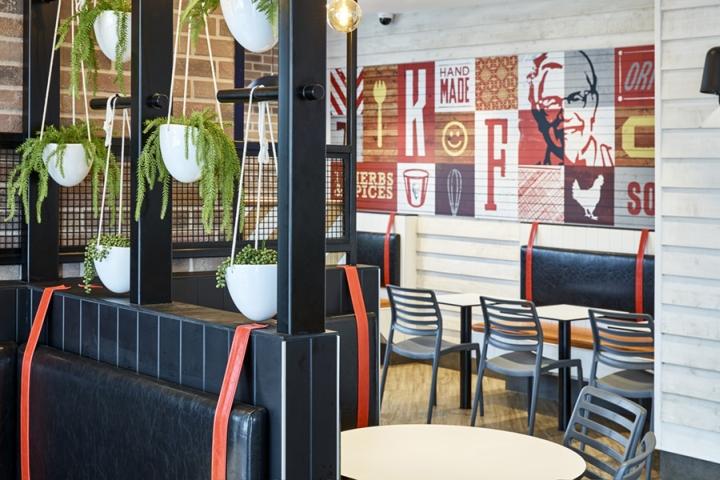 Thiết kế nội thất - Yếu tố quan trọng tạo nên thương hiệu chuỗi nhà hàng KFC thiet ke noi that nha hang an nhanh 5
