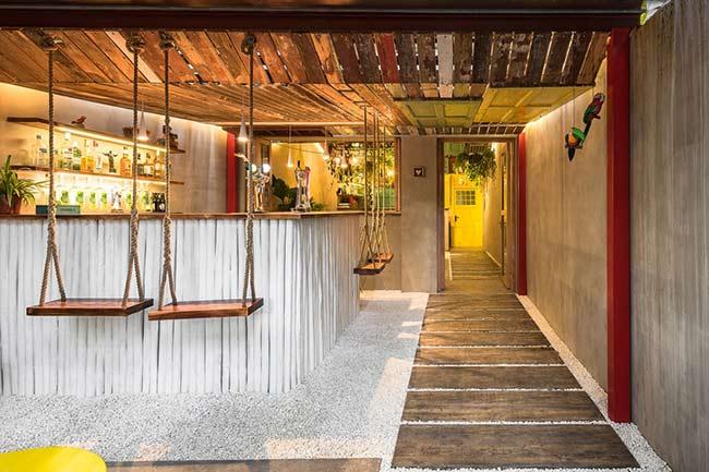 Phá cách trong thiết kế nội thất quán bar thiet ke quan bar 2