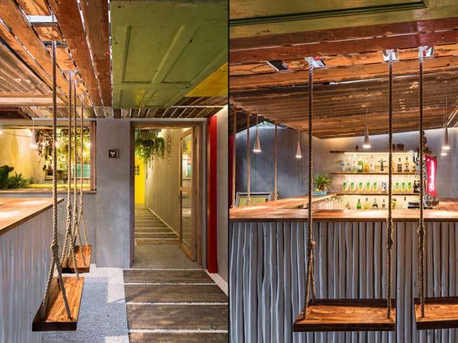 Phá cách trong thiết kế nội thất quán bar thiet ke quan bar 4