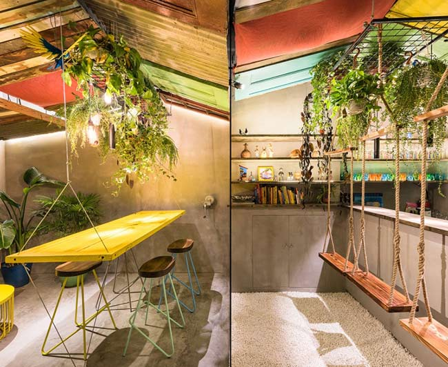 Phá cách trong thiết kế nội thất quán bar thiet ke quan bar 5