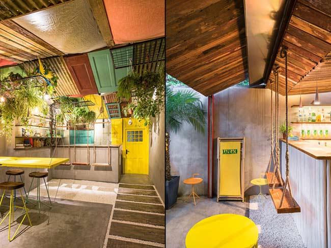 Phá cách trong thiết kế nội thất quán bar thiet ke quan bar 6