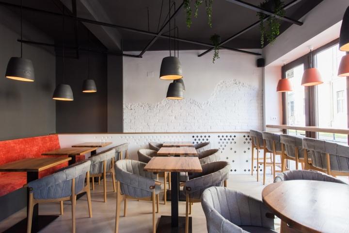 Ý tưởng thiết kế quán cafe độc đáo với nội thất gỗ ấm cúng thiet ke quan cafe noi that go 10