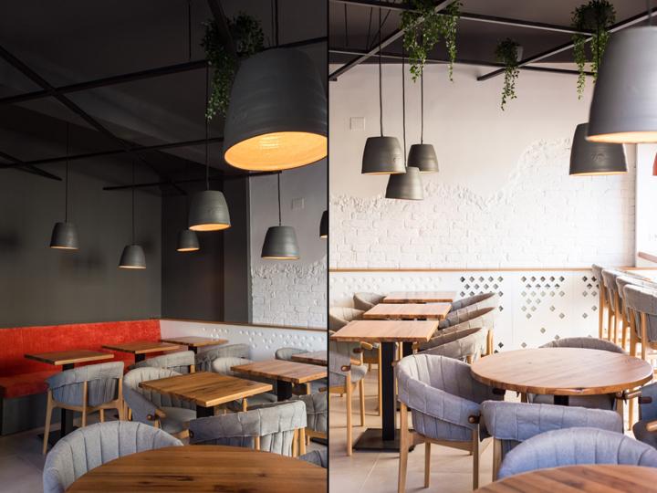 Ý tưởng thiết kế quán cafe độc đáo với nội thất gỗ ấm cúng thiet ke quan cafe noi that go 7