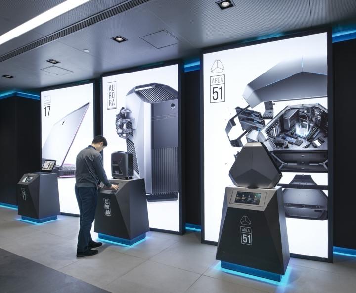 Nâng tầmthương hiệu với showroom máy tính được thiết kế hiện đại thiet ke showroom may tinh 6