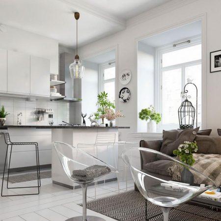 Thiết kế nội thất căn hộ phong cách Bắc Âu