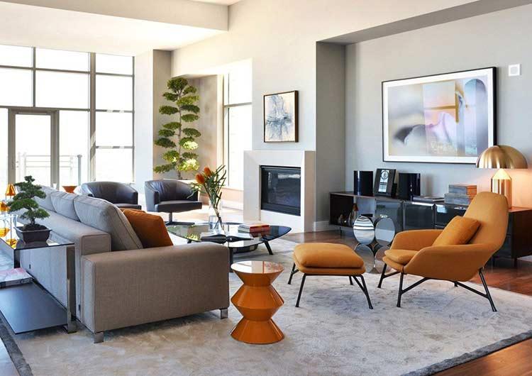 """""""Ngẩn ngơ"""" trước căn hộ thiết kế phong cách hiện đại đẹp đến từng chi tiết can ho phong cach hien dai 1 1"""