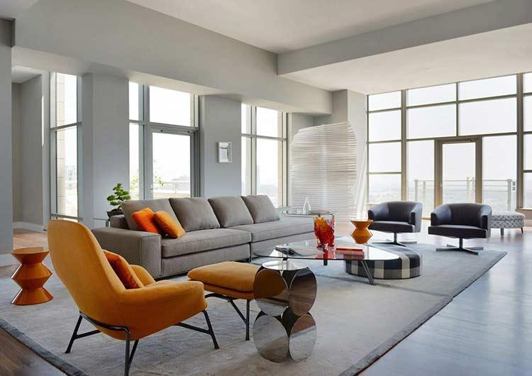 """""""Ngẩn ngơ"""" trước căn hộ thiết kế phong cách hiện đại đẹp đến từng chi tiết can ho phong cach hien dai 2 1"""