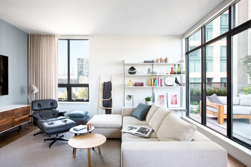 Thiết kế căn hộ phong cách hiện đại mau can ho hien dai