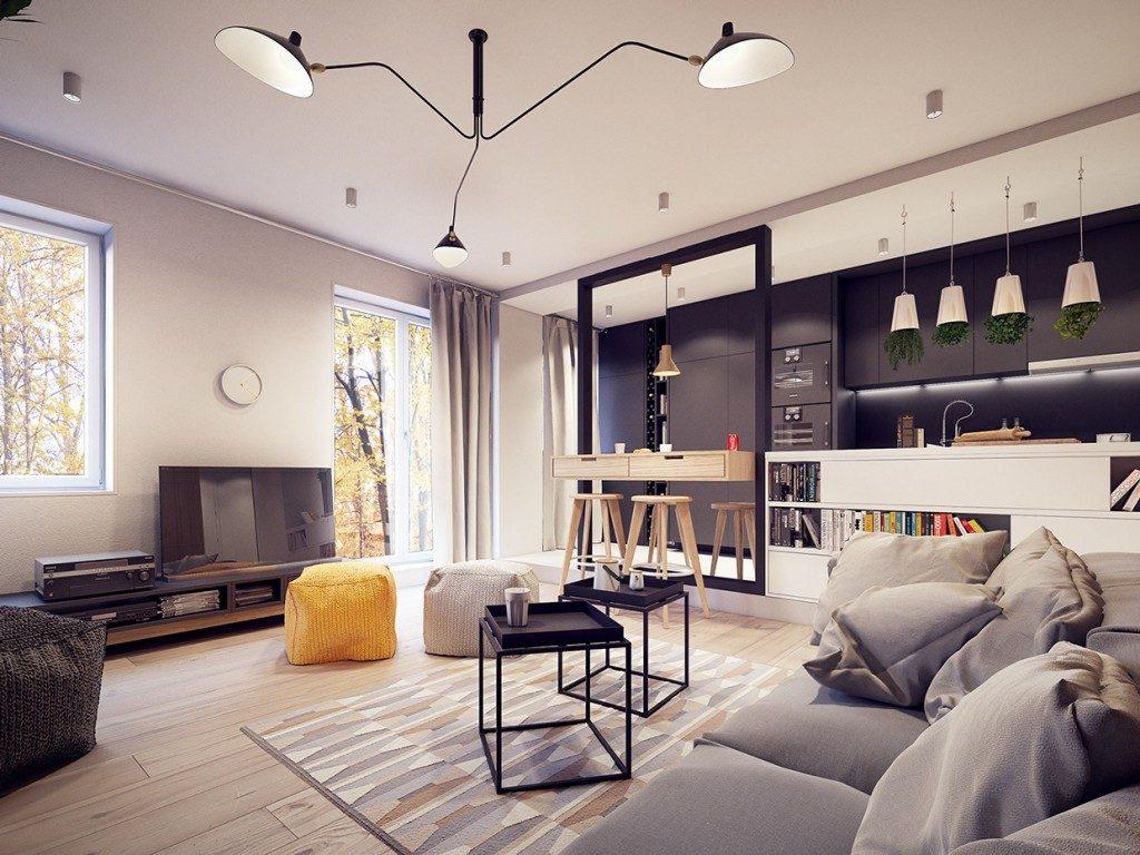 Thiết kế nội thất căn hộ phong cách Vintage mau thiet ke noi that chung cu mang phong cach vintage