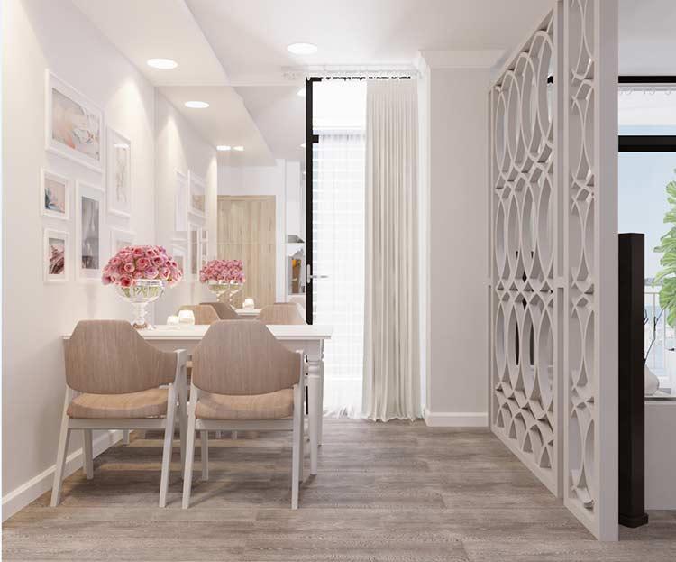 Thiết kế nội thất căn hộ chung cư Riva Park - Quận 4 thiet ke can ho hien dai 1