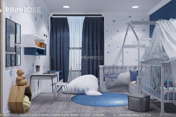 Thiết kế nội thất căn hộ chung cư Riva Park - Quận 4 thiet ke can ho hien dai 10