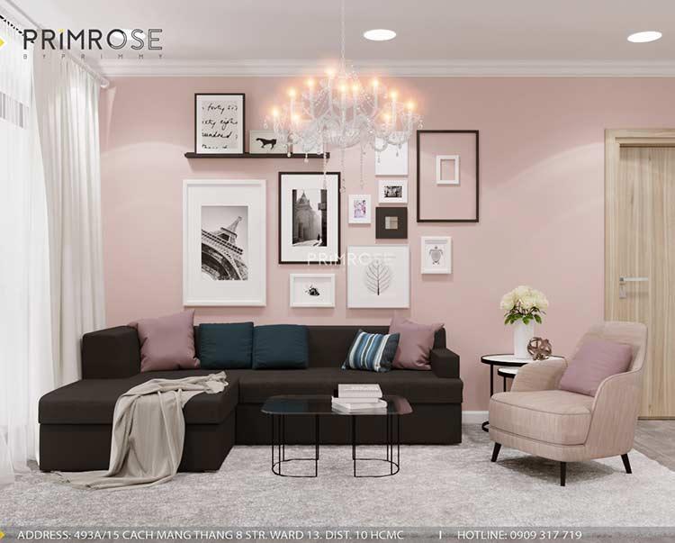 Thiết kế nội thất căn hộ chung cư Riva Park - Quận 4 thiet ke can ho hien dai 13