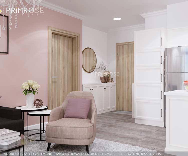 Thiết kế nội thất căn hộ chung cư Riva Park - Quận 4 thiet ke can ho hien dai 14