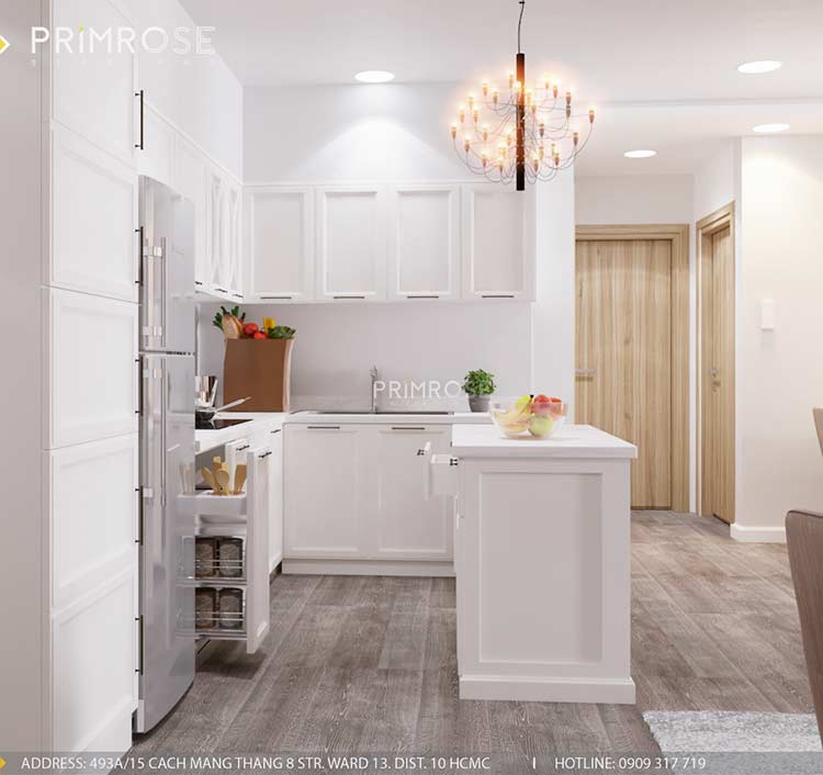 Thiết kế nội thất căn hộ chung cư Riva Park - Quận 4 thiet ke can ho hien dai 15