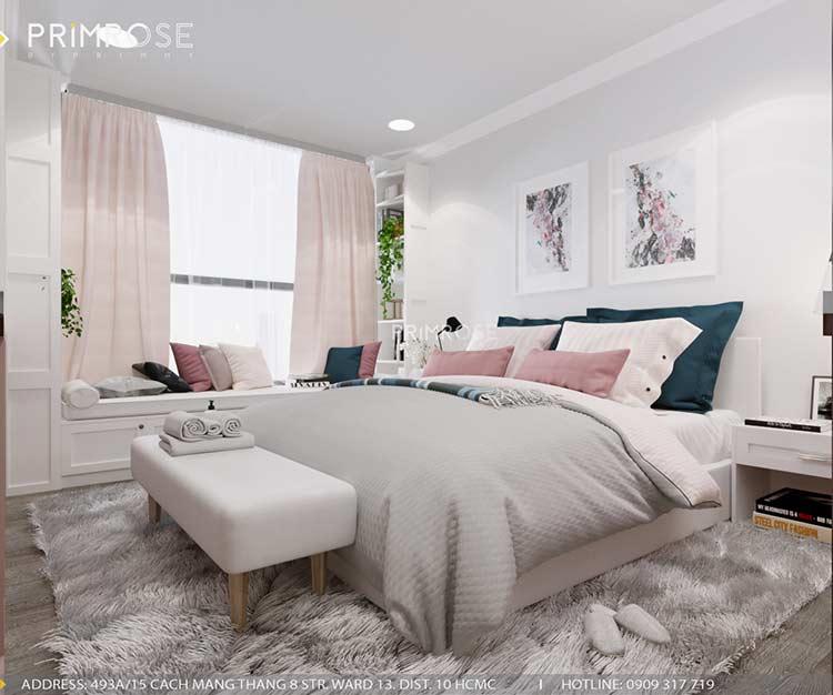 Thiết kế nội thất căn hộ chung cư Riva Park - Quận 4 thiet ke can ho hien dai 4