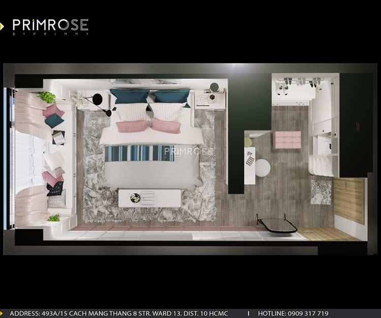 Thiết kế nội thất căn hộ chung cư Riva Park - Quận 4 thiet ke can ho hien dai 7