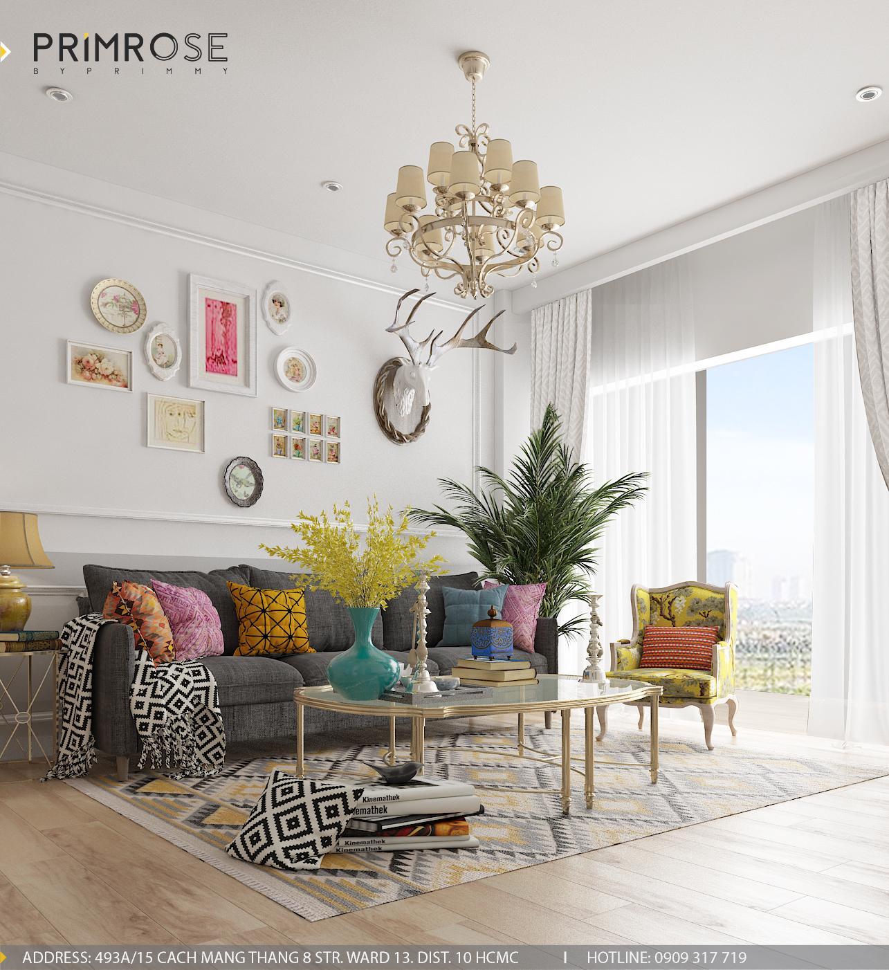 Electric Style – Phong cách thiết kế nội thất căn hộ hiện đại