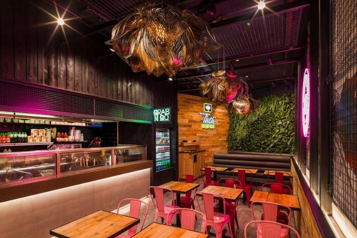 Thiết kế nhà hàng Thái thiet ke nha hang Thai 1