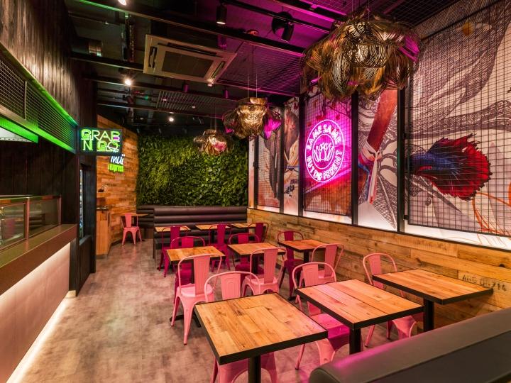 Thiết kế nhà hàng Thái thiet ke nha hang Thai 2