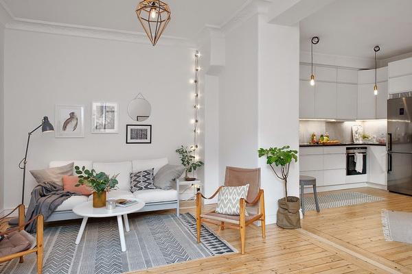 Thiết kế nội thất căn hộ phong cách Vintage thiet ke noi that can ho 55m2