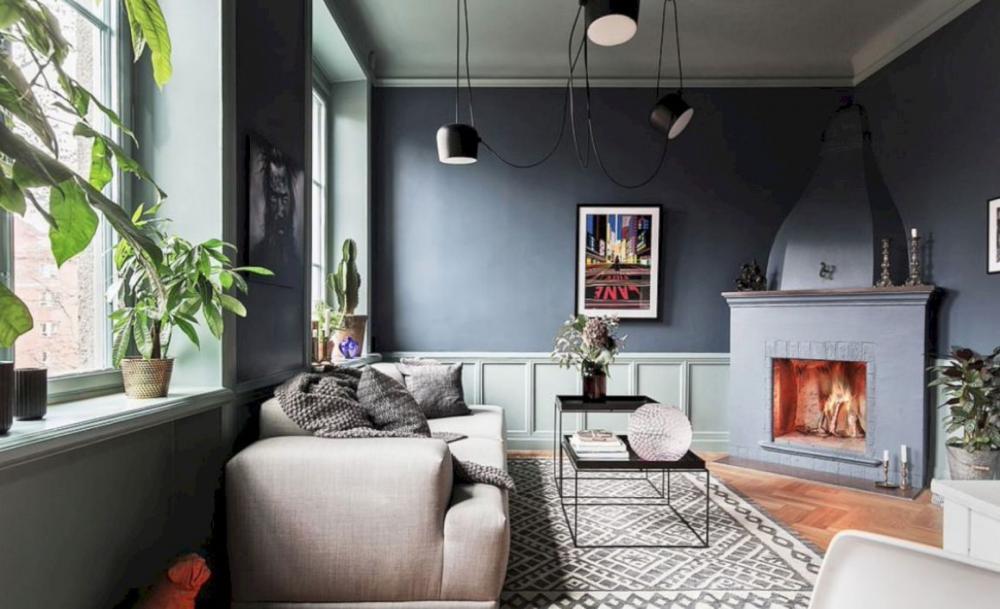 Japandi - Phong cách thiết kế nội thất nổi bật 2018 thiet ke noi that can ho hien dai 4 1