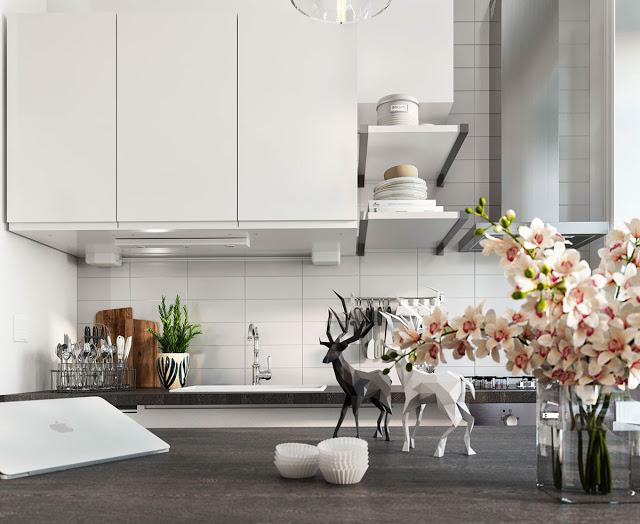 Thiết kế nội thất căn hộ phong cách Bắc Âu thiet ke noi that phong cach Bac Au 3