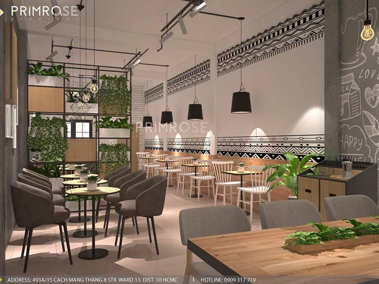 Toff Tea & Coffee - Phong cách quán trà sữa hiện đại thiet ke noi that quan cafe tra sua 3