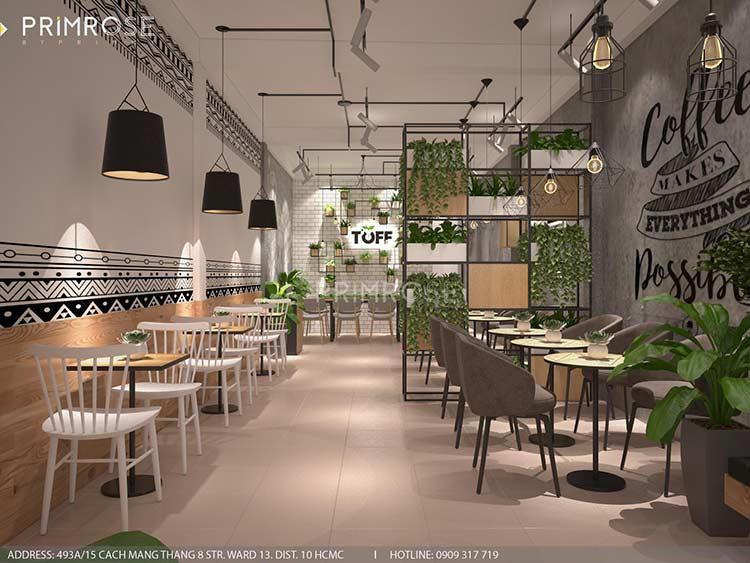 Toff Tea & Coffee - Phong cách quán trà sữa hiện đại thiet ke noi that quan cafe tra sua 4