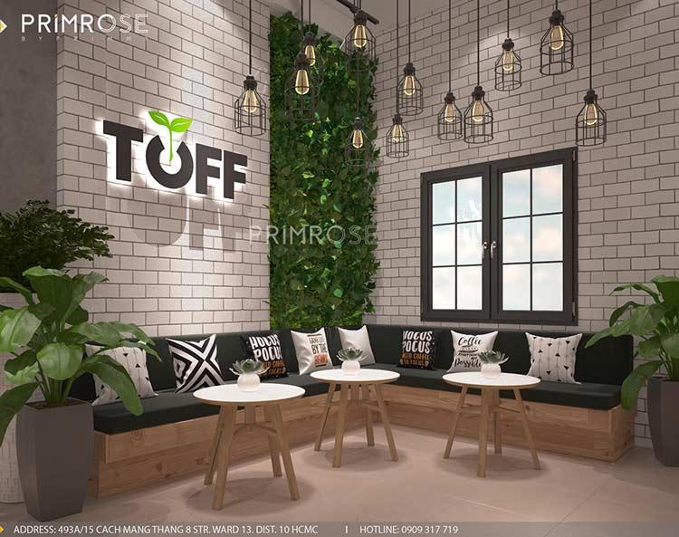 Toff Tea & Coffee - Phong cách quán trà sữa hiện đại thiet ke noi that quan cafe tra sua 5