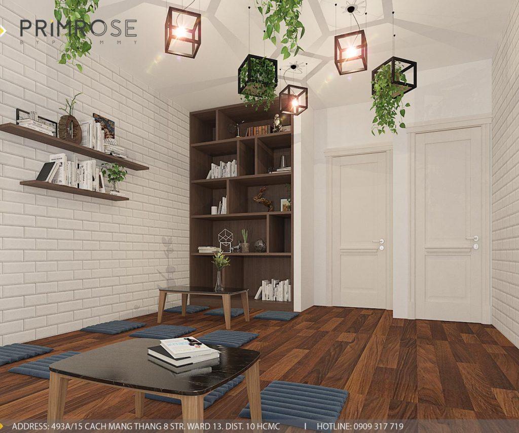 Thiết kế cafe văn phòng – Nguyễn Huy Tưởng, Bình Thạnh thiet ke quan cafe van phong 2