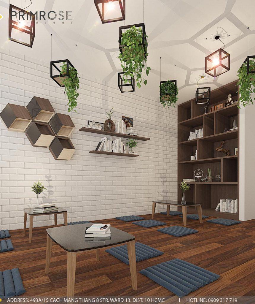 Thiết kế cafe văn phòng – Nguyễn Huy Tưởng, Bình Thạnh thiet ke quan cafe van phong 5