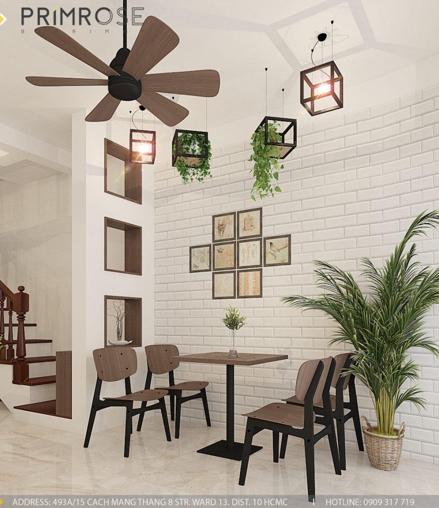 Thiết kế cafe văn phòng – Nguyễn Huy Tưởng, Bình Thạnh thiet ke quan cafe van phong 6