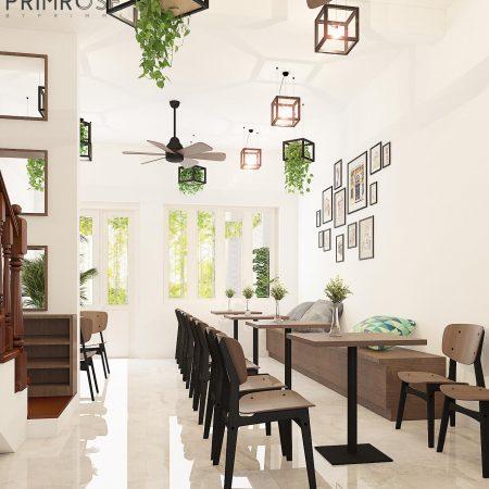 Thiết kế cafe văn phòng – Nguyễn Huy Tưởng, Bình Thạnh