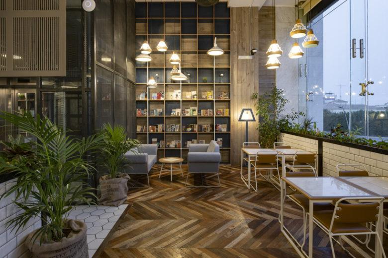 Không gian nội thất quán cafe – Nơi gửi gắm cảm xúc của khách hàng. xu huong thiet ke quan cafe 6