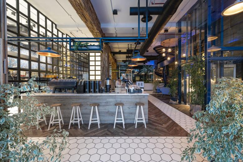 Không gian nội thất quán cafe – Nơi gửi gắm cảm xúc của khách hàng. xu huong thiet ke quan cafe 9
