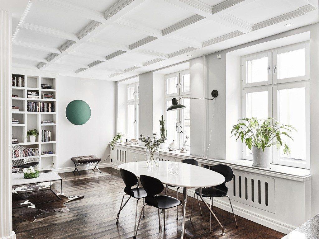 Scandinavian - Căn hộ phong cách của sự tối giản kiểu Châu Âu can ho phong cach Scandinavian 3