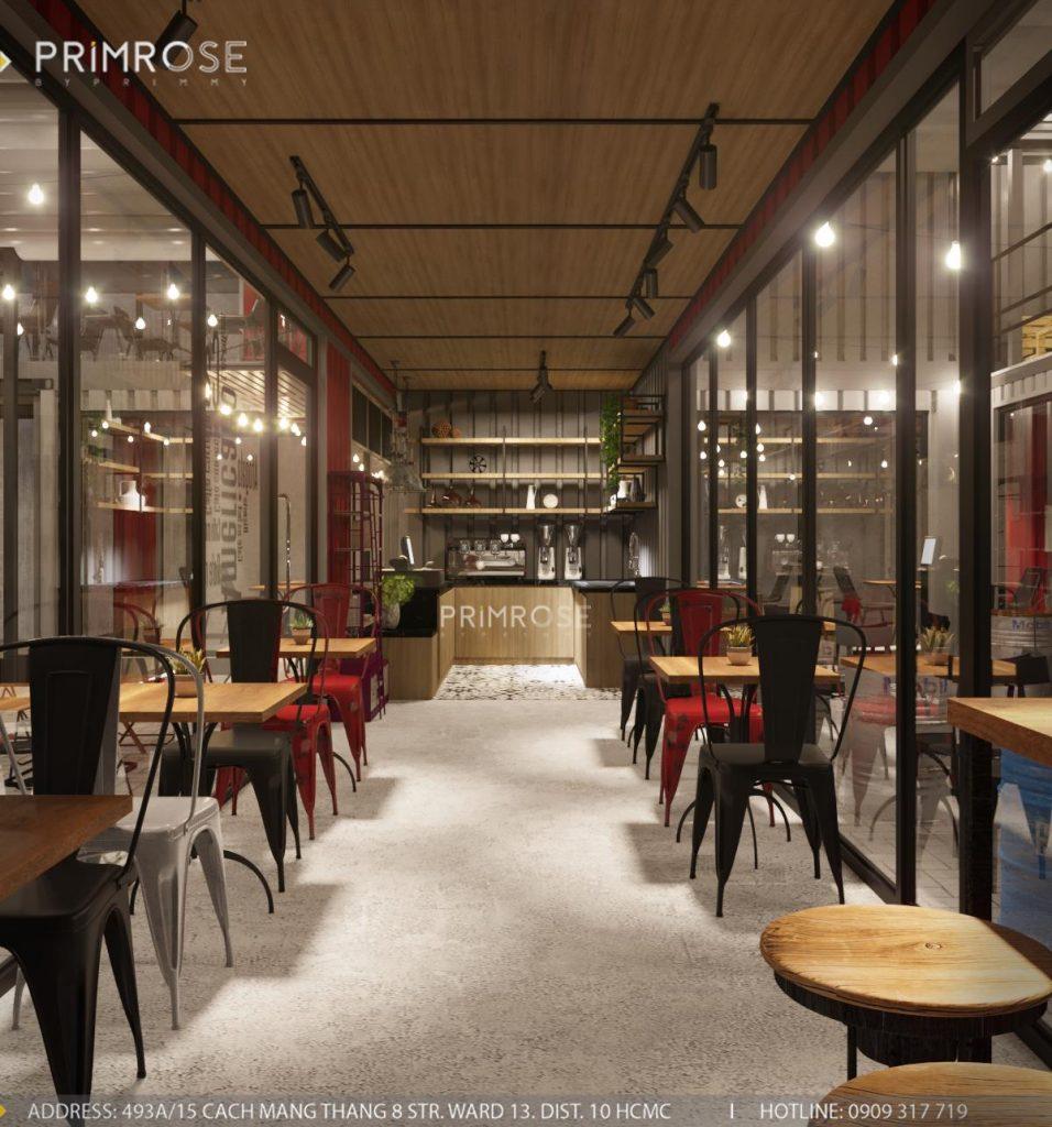 The Container Cafe - Quán cafe độc đáo kết hợp mô hình container và sân vườn thiet ke quan cafe container dep 7