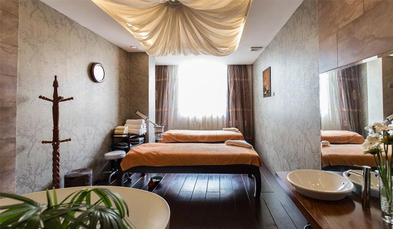 Thiết kế spa phong cách hiện đại bắt kịp xu hướng mới Thiết kế spa với nội thất hiện đại