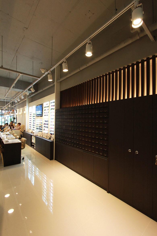Chiêm ngưỡng không gian Nail cao cấp tại Hàn Quốc mau thiet ke salo nail dep 5