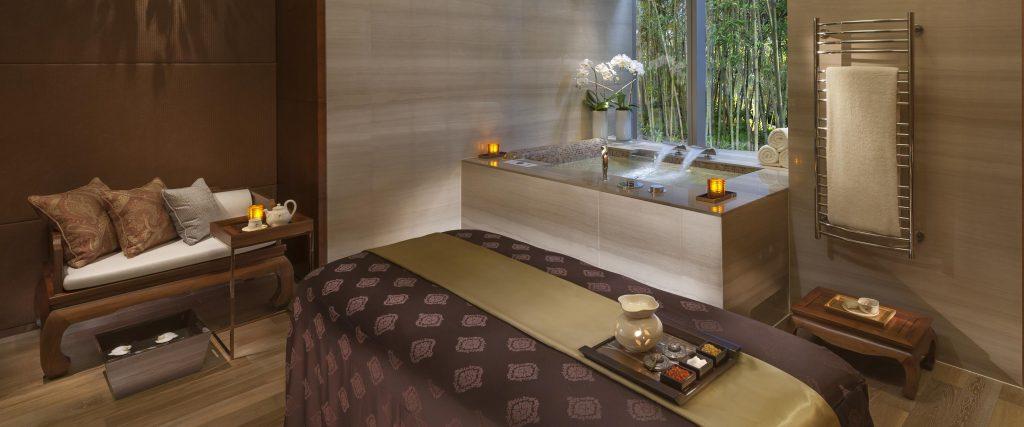 Thiết kế spa phong cách hiện đại bắt kịp xu hướng mới shanghai luxury spa treatment room