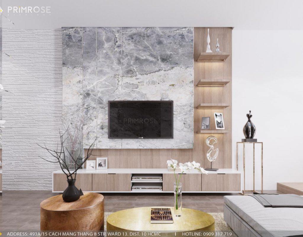 Thiết kế nội thất nhà phố phong cách hiện đại sang trọng thiet ke noi that nha pho 1