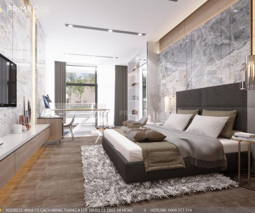 Thiết kế nội thất nhà phố phong cách hiện đại sang trọng thiet ke noi that nha pho 10