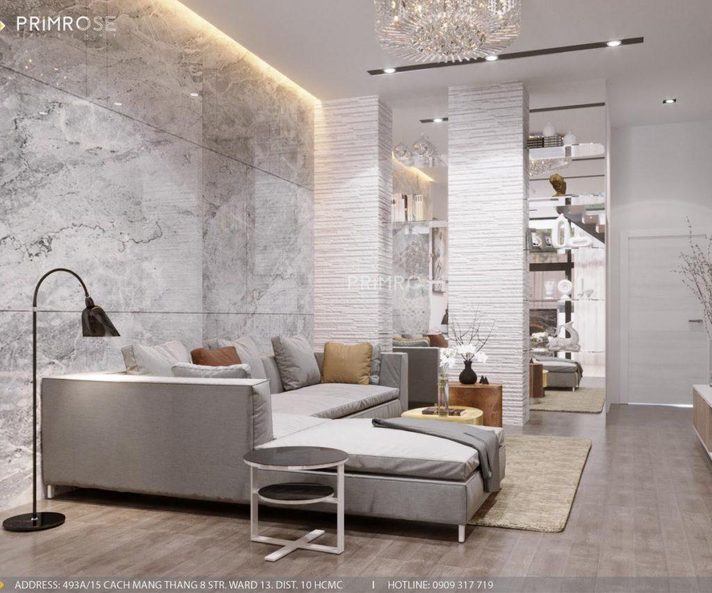 Thiết kế nội thất nhà phố phong cách hiện đại sang trọng thiet ke noi that nha pho 4