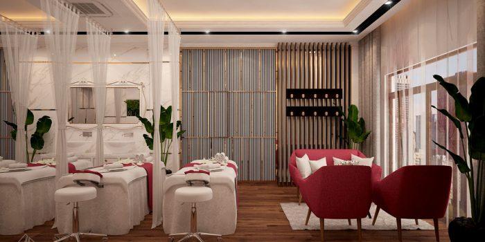 Thiết kế spa đẹp giúp kinh doanh thành công thiet ke noi that spa dep 4