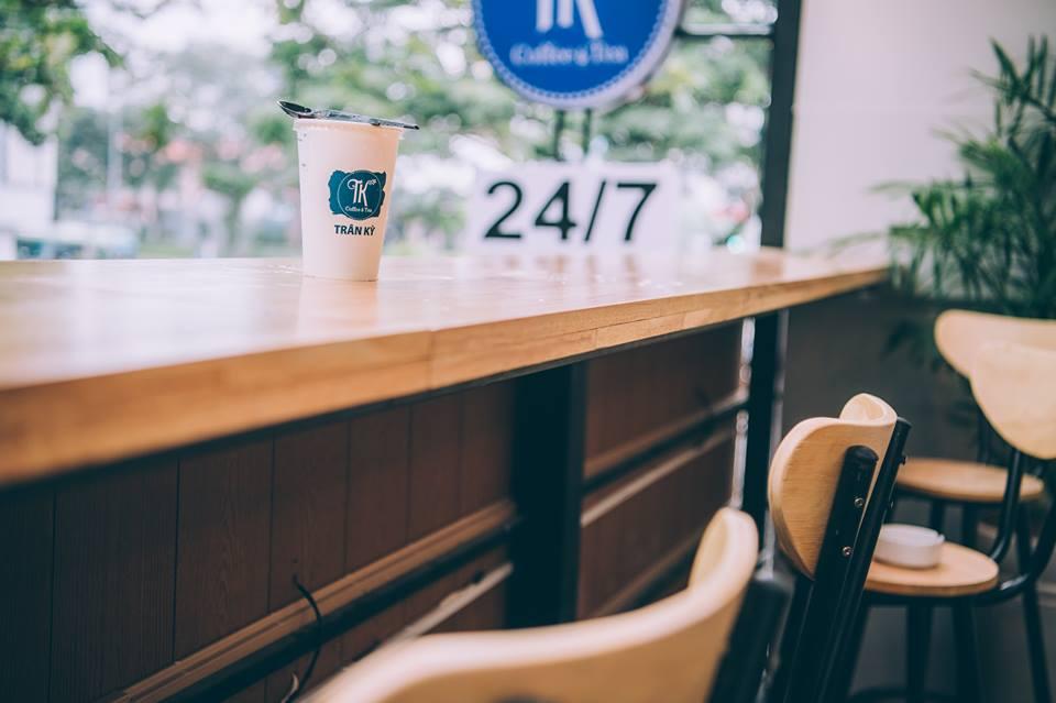 Trân Kỳ Coffee & Tea - Nguyễn Thái Học, Bến Nghé, Quận 1, HCM thiet ke thi cong quan cafe Tran Ky Coffetea 7